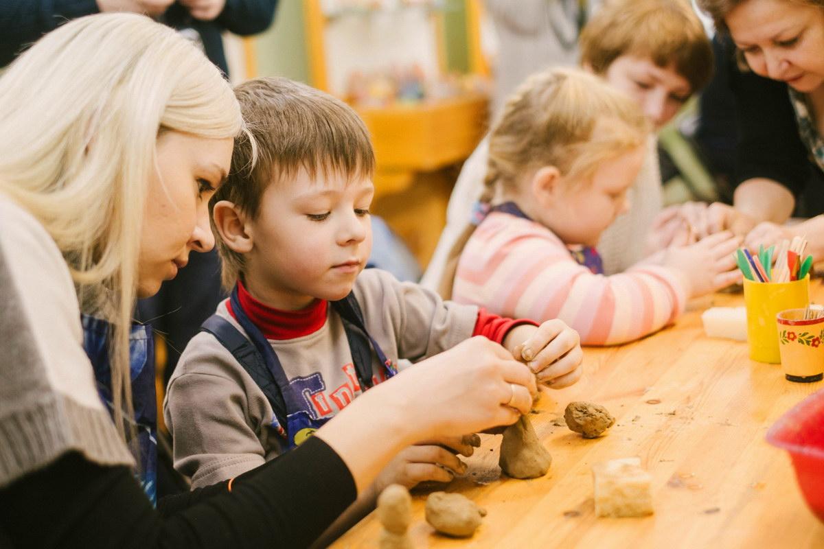 Работа с природной глиной - курсы в Севастополе